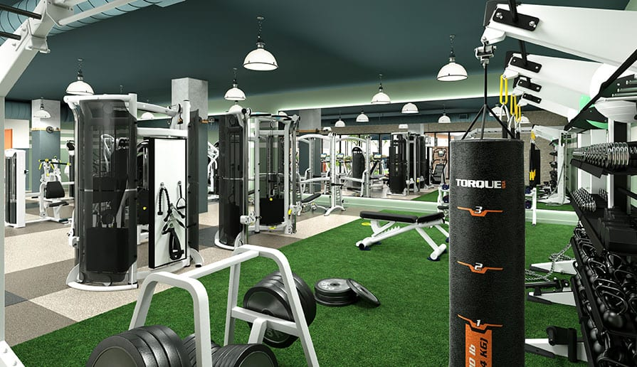 Fitness Center with State-of-the-Art Fitness Equipment