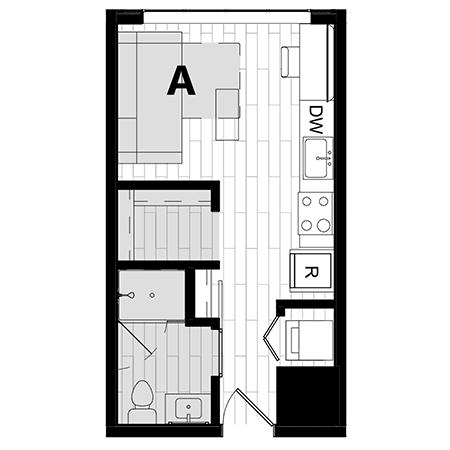 Rendering for Murphy A floor plan