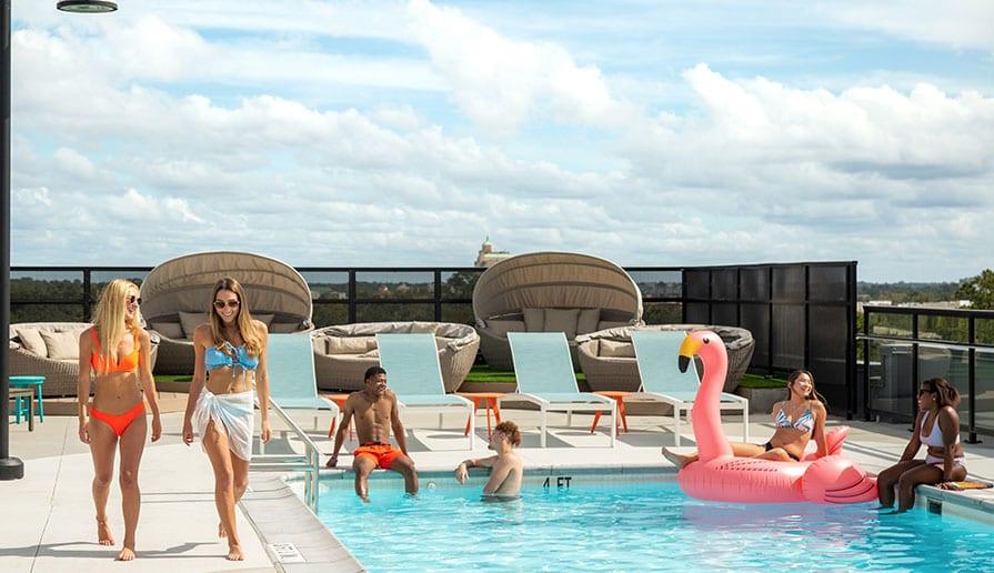 Rooftop Pool + Hot Tub gallery image 7
