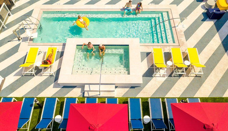 Rooftop Pool + Hot Tub gallery image 5