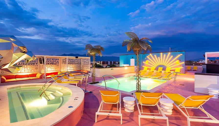 Rooftop Pool + Hot Tub  gallery image 4