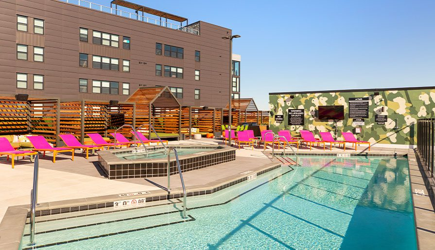 Rooftop Pool + Hot Tub gallery image 1